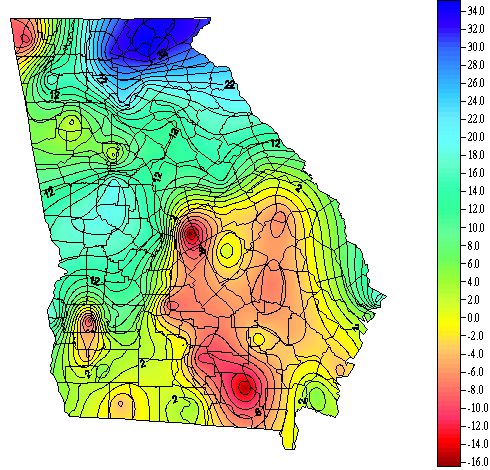 Map Of Vienna Georgia.Georgia Weather Automated Environmental Monitoring Network Page